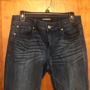 Express skinny jeans - sz 8R